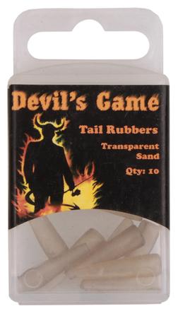 B. Richi Tailrubbers Transparant Sand 10pcs