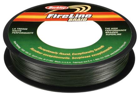 Berkley Fireline Braid Green (keuze uit 5 opties)