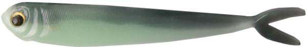 "Fishbelly Hawg Shads Split Tail 5"", 5 stuks (keuze uit 12 opties) - Green Shad"