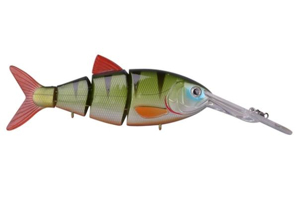 Spro Swimbait BBZ-1 Crank-N-Shad (Keuze uit 10 opties) - Green Perch