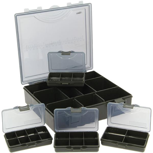 Deluxe Method & Feeder Tackle Box gevuld met klein materiaal!