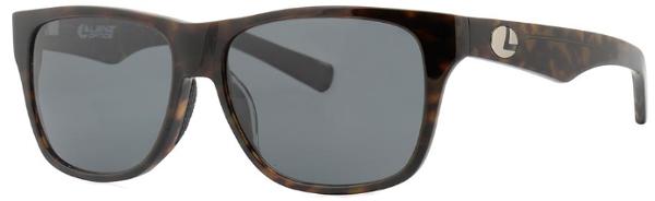 Lenz Optics Tay Polarised Sunglasses (keuze uit 4 opties) - Green/Coffee w/Grey Lens