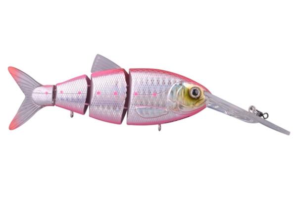 Spro Swimbait BBZ-1 Crank-N-Shad (Keuze uit 10 opties) - Pink Back Herring