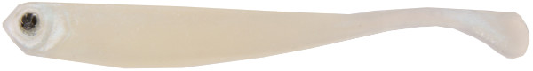 Fishbelly Hawg Shads Paddle Tail, 7 stuks (keuze uit 6 opties) - Pearl Blue