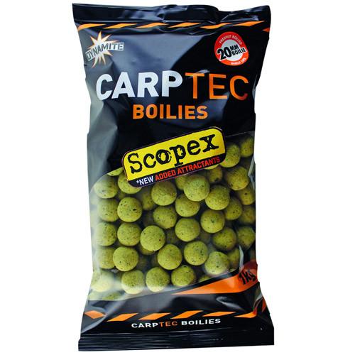 1kg Dynamite Baits CarpTec Boilies (keuze uit 7 smaken) - Scopex