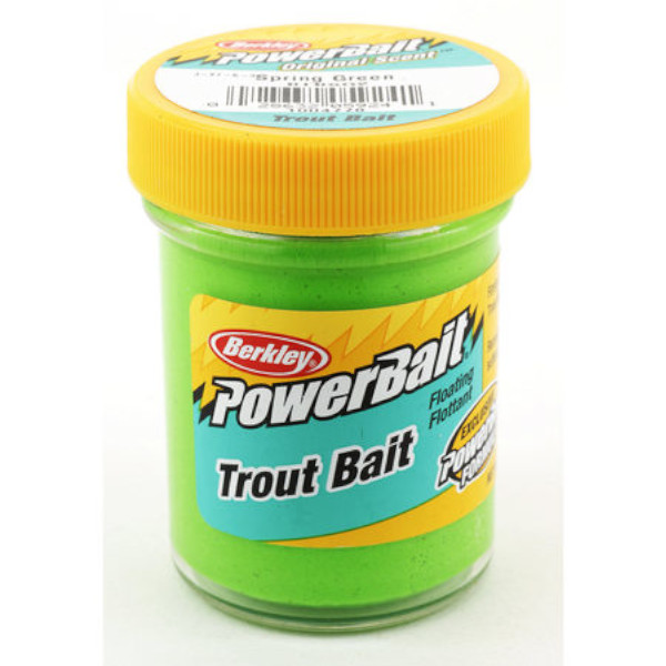 Berkley Powerbait Biodegradable Trout Bait (Keuze uit 7 opties) - Spring Green