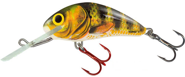 Salmo Hornet 5cm Sinking (keuze uit 6 opties) - Real Identity Perch (RIP)