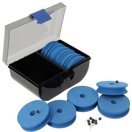 Handig systeem voor het opbergen van je onderlijnen, zig rigs en dropshot montages