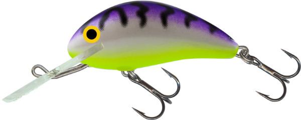 Salmo Hornet 5cm, USA kleuren! (keuze uit 23 opties) - Uv Purple Tiger