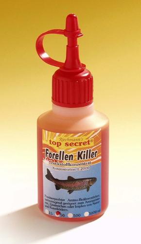 Top Secret Killer Aroma 50ml (Keuze uit 8 opties) - Top Secret Killer Aroma 50ml - Trout Killer