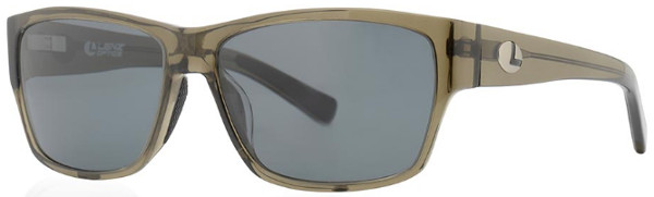 Lenz Optics Dee Polarised Sunglasses (keuze uit 4 opties) - Clear Army w/Grey Lens