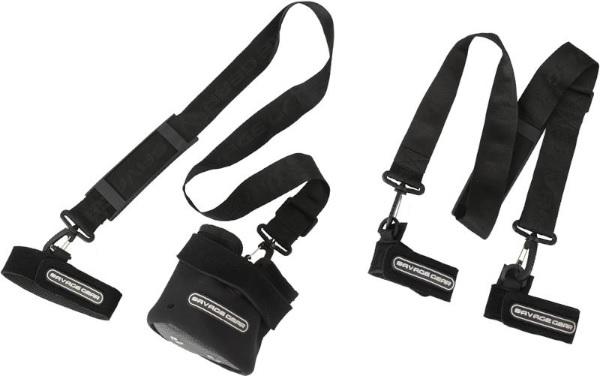 Savage Gear Rod Carry All Strap (keuze uit 2 opties) - Links maat L - rechts maat M.
