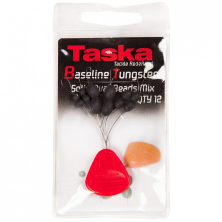 Taska Baseline Tungsten Oval Beads mixed