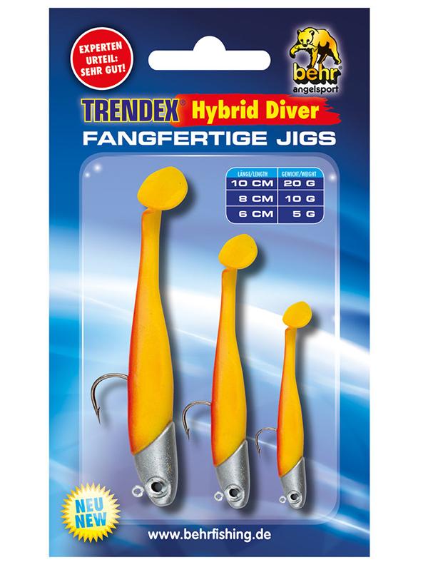 Behr Trendex Hybrid Diver Set (keuze uit 5 verschillende kleuren) - Behr Trendex Hybrid Diver Set 5
