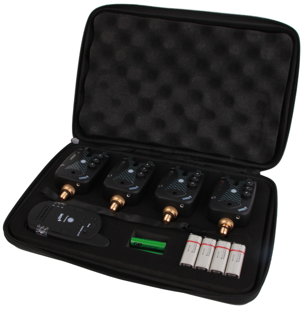 Carp Sonar D-Tector Beetmelder Set inclusief Receiver (keuze uit 3 opties)