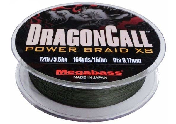 Megabass Dragon Call Power Braid X8 (keuze uit 4 opties)