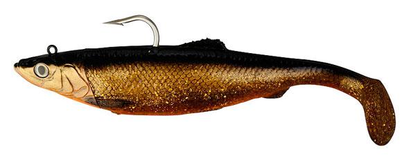 Savage Gear 3D Herring Big Shad 32cm (keuze uit 5 opties) - Red Fish Gold