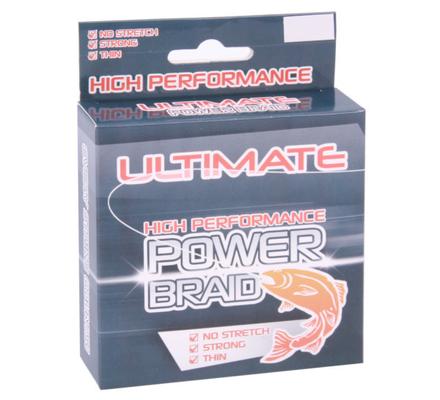 Ultimate Power Braid 150m (vele diameters!)