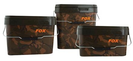 Fox Camo Square Bucket (keuze uit 3 opties)