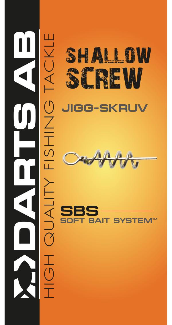 Darts Shallow Screw, 5 stuks (Keuze uit 3 opties)