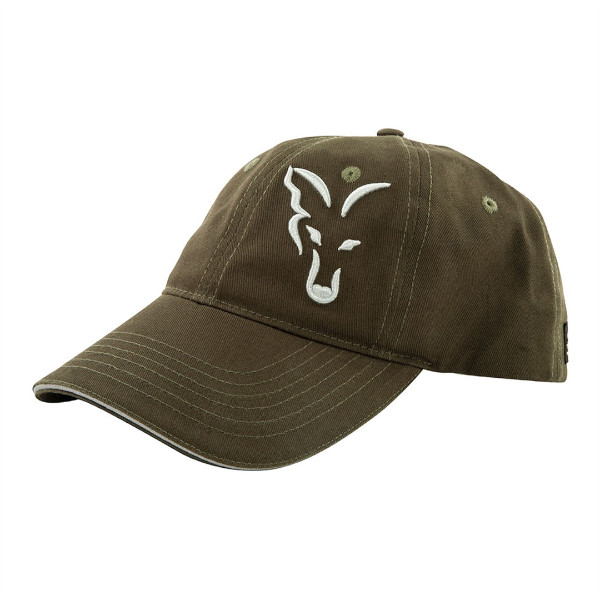 Fox Green-Silver Baseball Cap