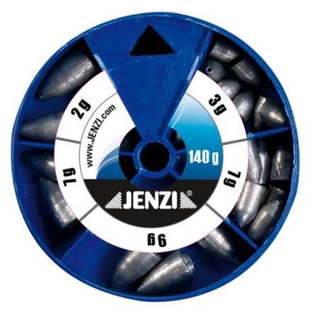 Jenzi Drop Shot / Texas / Carolina Rig Lood Assortiment (keuze uit 3 opties)
