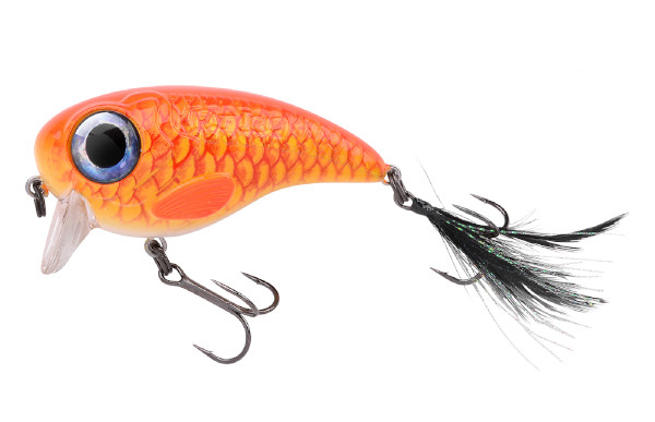 Spro Fat Iris 80 + Spro Stainless Wire Leaders (Keuze uit 12 opties) - Goldfish