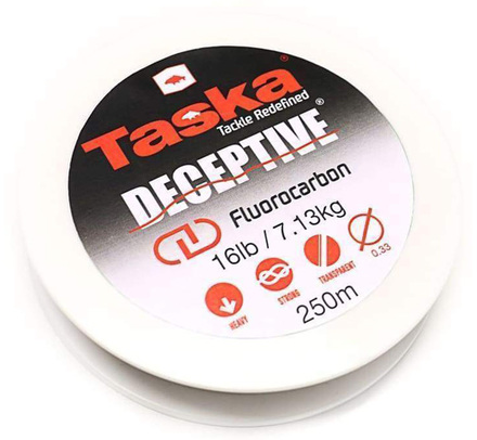 Taska Deceptive Fluorocarbon hoofdlijn (keuze uit 2 opties)