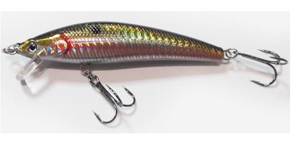 Predator-Z Asp Shad, 10cm, 11g, floating (Keuze uit 3 opties) - Spotted Minnow