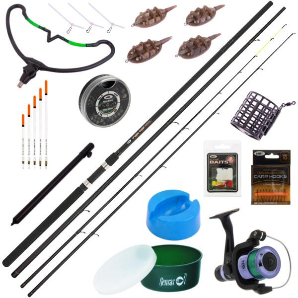 Complete NGT Feeder & Match Set met veel accessoires!