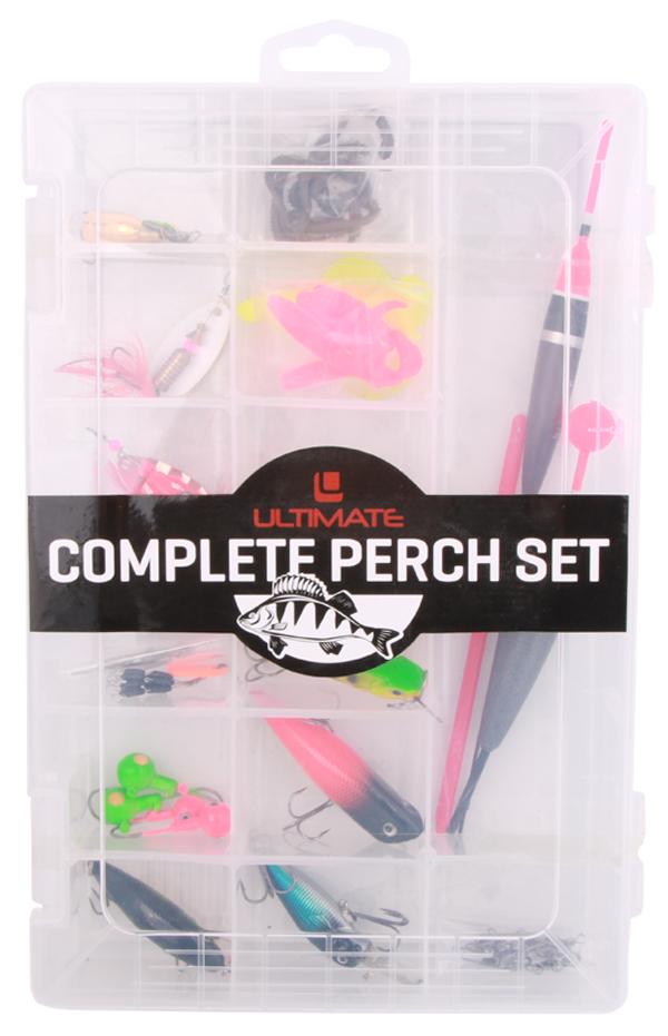 Ultimate Perch Set met hardbaits, softbaits, spinners en meer!