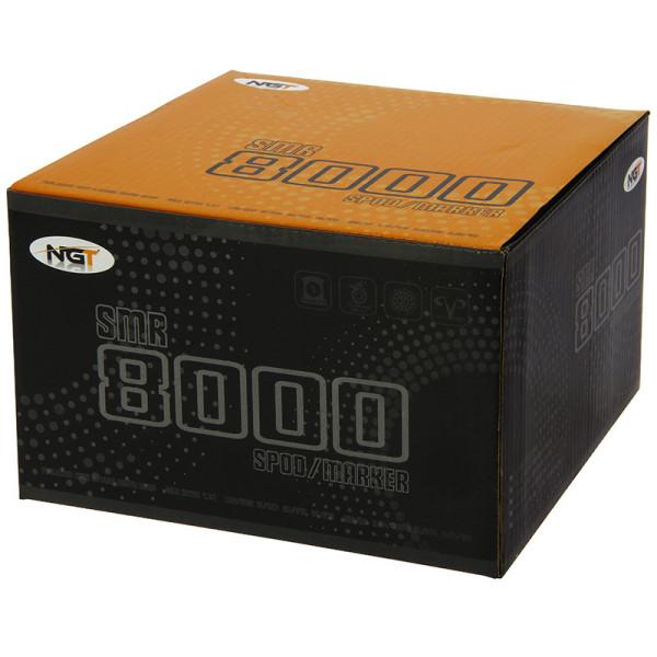 NGT SMR 8000 Spod/Marker molen incl. Nylon