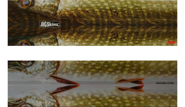 JigSkinz kunstaas cover (keuze uit 6 opties) - Pike