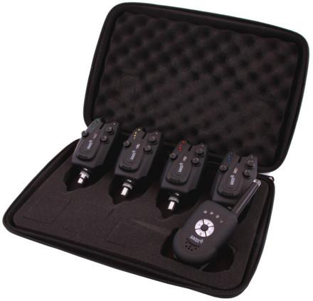Carp Sonar E-Tension draadloze beetmelderset + ontvanger (keuze uit 2, 3 of 4 beetmelders)