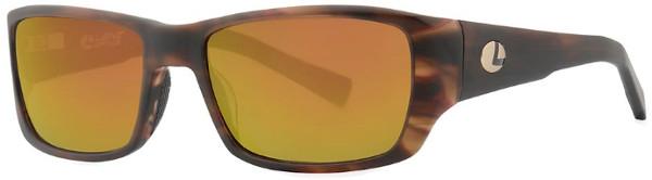 Lenz Optics Kaitum Polarised Sunglasses (keuze uit 4 opties) - Havanna Gold w/Copper Mirror
