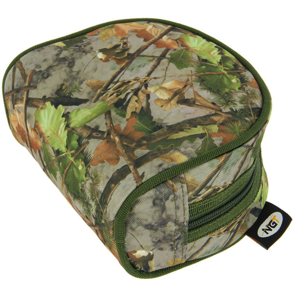 NGT Camo Padded Reel Case