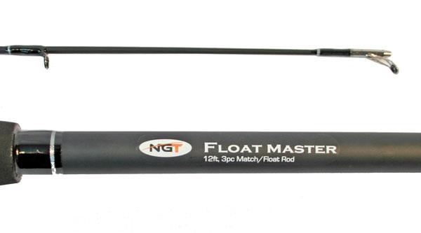 NGT Match Set! Floatmaster Match hengel + TZ20R werpmolen inclusief nylon lijn