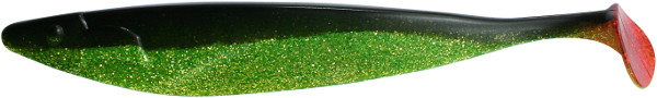 "ShadXperts Megalodon 12"" (keuze uit 2 opties) - Chartreuse Glitter / Black"