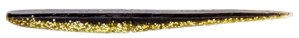 Lunker City Slug-Go 4,5'', 10 stuks! (keuze uit 23 opties) - Gold Pepper Shiner