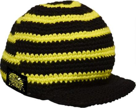 Black Cat Crochy Cap