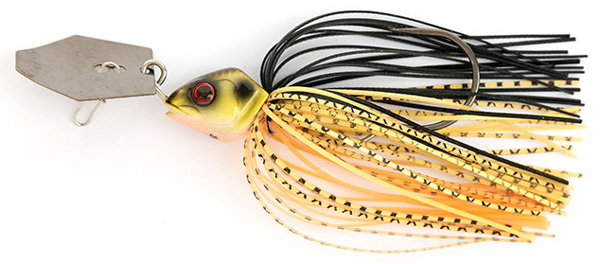 Fox Rage Bladed Jig Chatterbait (keuze uit 12 opties) - Black & Gold