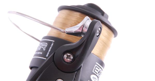 NGT EX Carp Runner vrijloopmolen volgespoeld met nylon (beschikbaar in 2 uitvoeringen)
