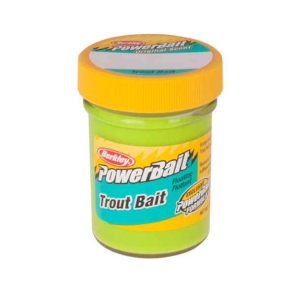 Berkley Powerbait Biodegradable Trout Bait (Keuze uit 7 opties) - Chartreuse