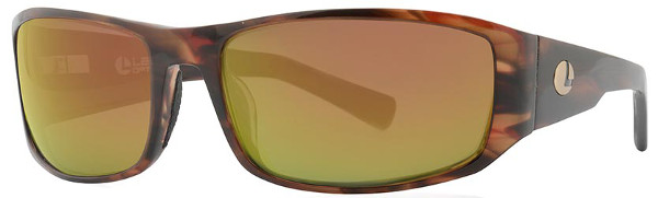 Lenz Optics Nordura Polarised Sunglasses (keuze uit 4 opties) - Havanna Gold w/Copper Mirror