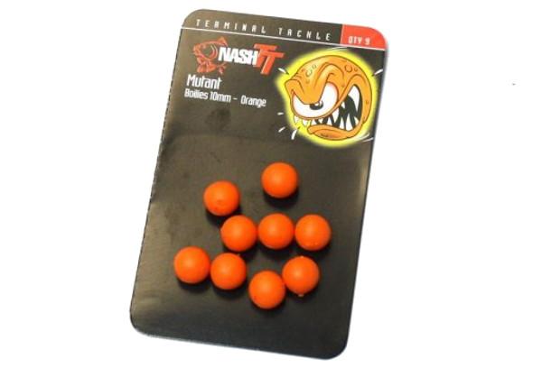 Nash Mutant Boilies (verkrijgbaar in verschillende diameters en kleuren) - Orange