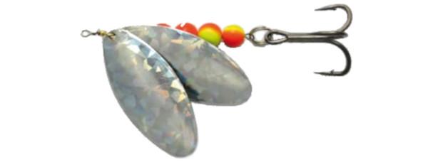 Behr Trendex Mega Spinner Dubbel Blad 60gr (keuze uit 2 opties) - Zilver Holografisch