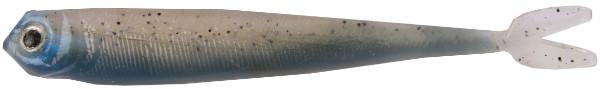 "Fishbelly Hawg Shads Split Tail 3,5"", 7 stuks (keuze uit 14 opties) - Rainbow Trout"