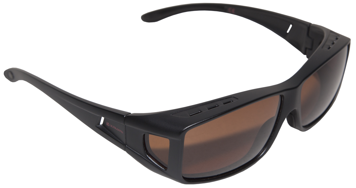 Ultimate Put Over Sunglasses - Brown