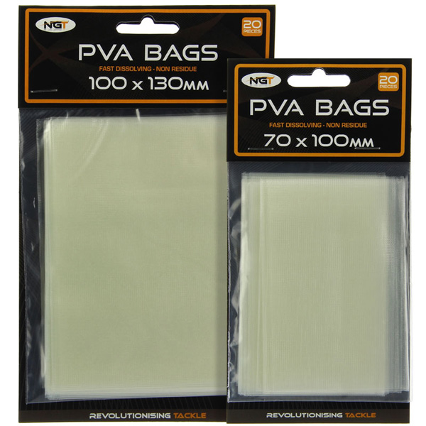 NGT PVA Bundle Pack, inclusief PVA Storage Bag! - PVA Bags