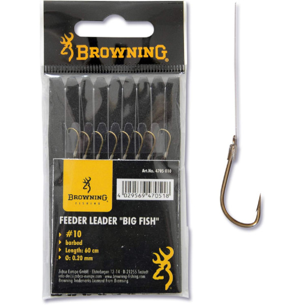 Browning Feeder Big Fish hook-to-nylon